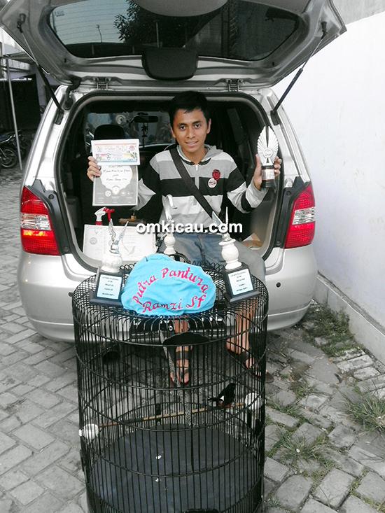 Om Ramzi Deon, pemilik murai batu Putra Pantura