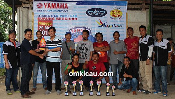 Peace BC juara umum bird club