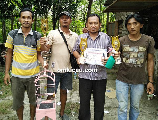 Penanggungan BC-juara kelas pleci