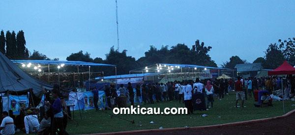 lomba burung berkicau Piala Kota Hujan di Bogor