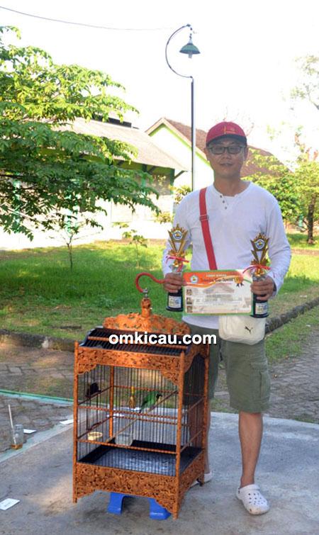 Om Rudi NRS dan cucak hijau Shianghai