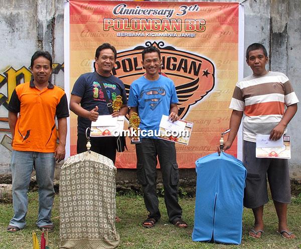 Anniversary 3 th Polongan BC-juara kacer
