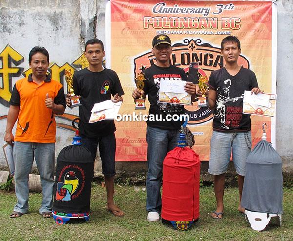 Anniversary 3 th Polongan BC-juara lovebird