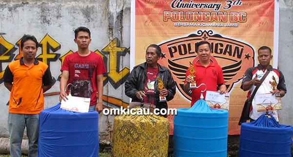 Anniversary 3 th Polongan BC-juara murai batu
