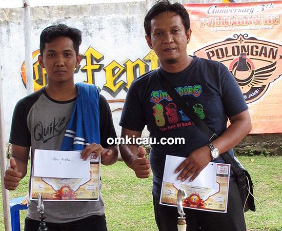 Anniversary 3 th Polongan BC-juara kenari