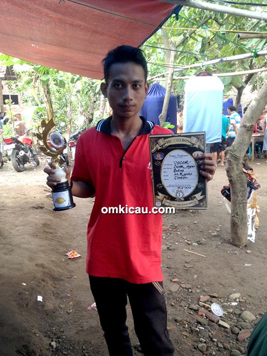 BBC Cirebon-juara cucak hijau