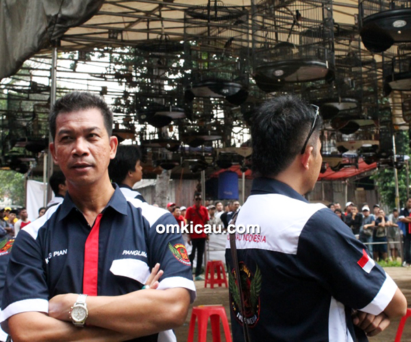 Kang Pian, penanggungjawab Radjawali Indonesia