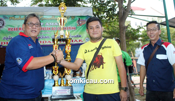Kemayoran BC juara umum bird club