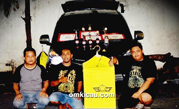 Om Fahmi dan kenari Kapal Oleng