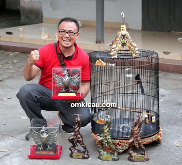 Om Yogi Kuda Hitam Bali dan murai batu Rancakbana