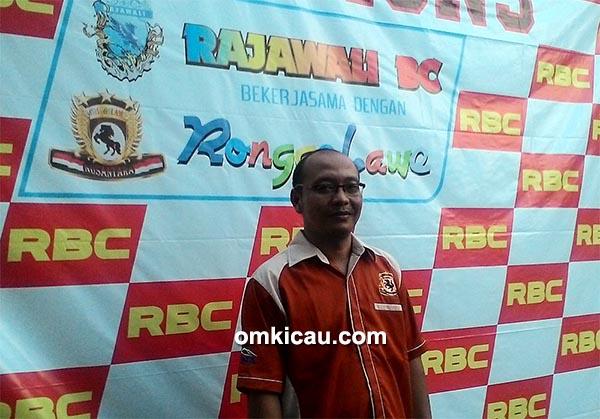 Om Agus TJ, ketua Ronggolawe DPC Klaten