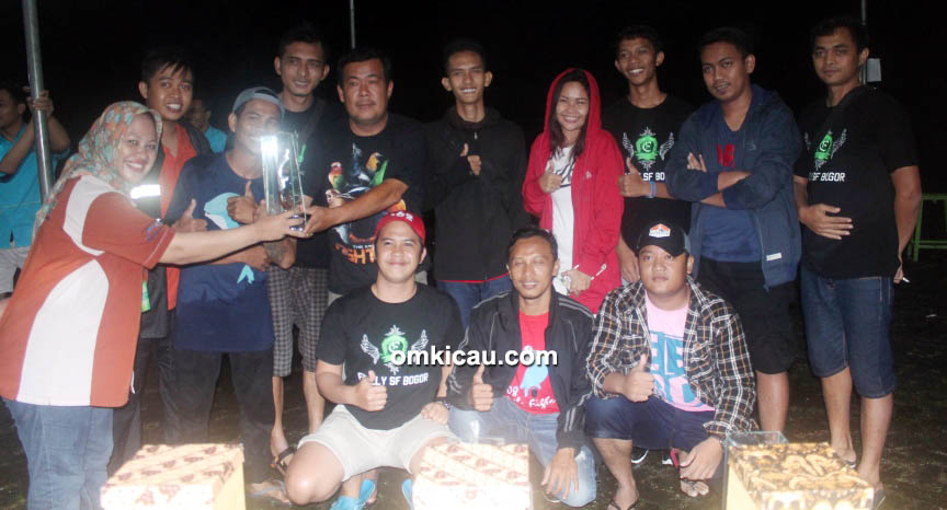 Bogor Bersatu Team juara umum BC