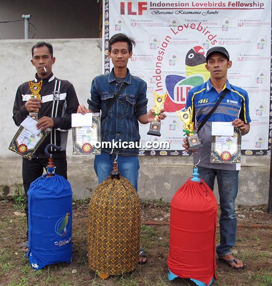 Launching ILF Jambi-juara lovebird