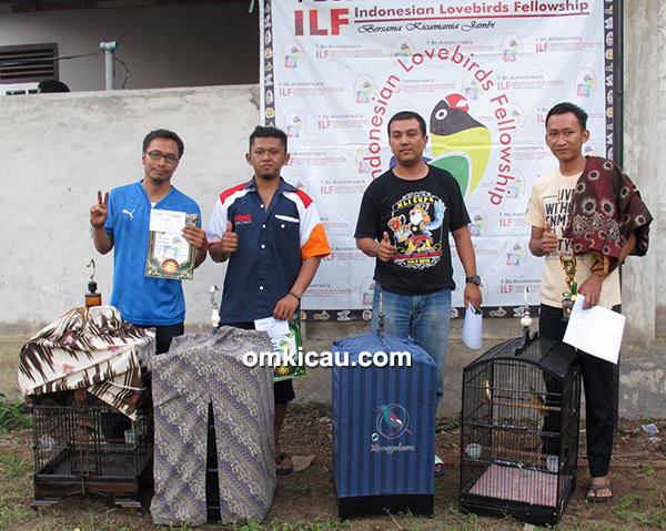 Launching ILF Jambi-juara kapas tembak