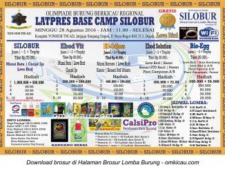 Brosur Latpres Akhir Bulan Base Camp Silobur, Depok, 28 Agustus 2016