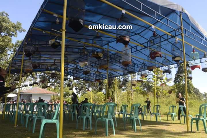 Lomba burung berkicau Elite BC Cup I Padang