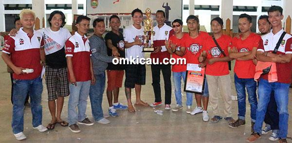 B16 Team juara umum BC