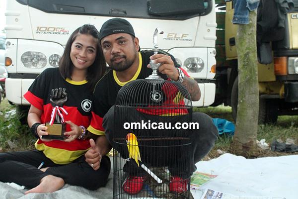 Om Indra Andong dan lovebird Awe We