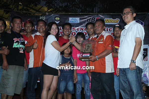 Mbak Uchie (Hello Kitty) juara SF