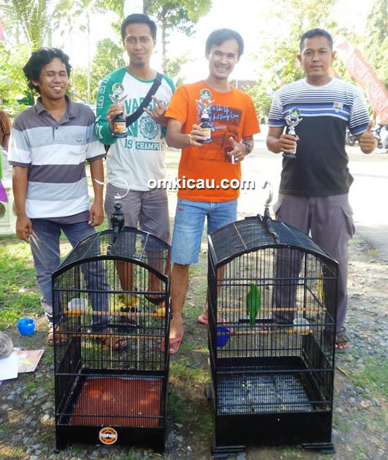 Om Arifin MD dan kenari Singo Barong