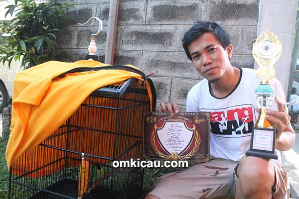 Om Mar One dan cucak ijo Cakil