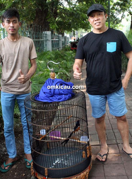 Om Tri Winner dan murai blacktail Ononiha