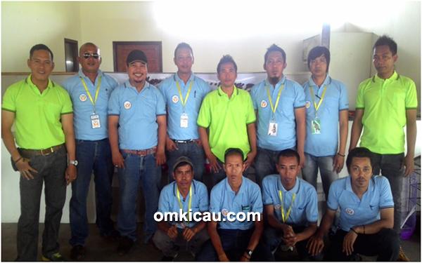 Panitia BKKM BC dan tim juri