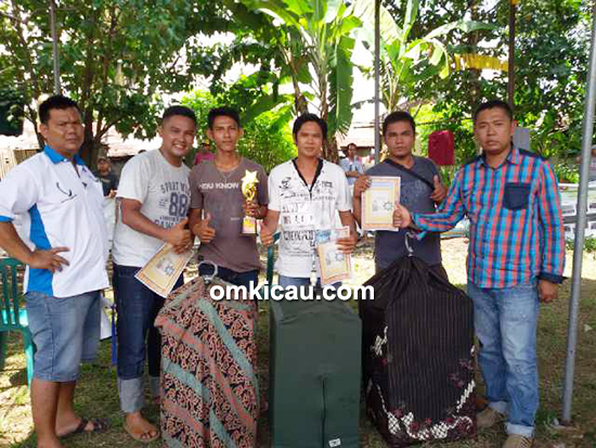 Lomba burung berkicau CD Cup Bangko