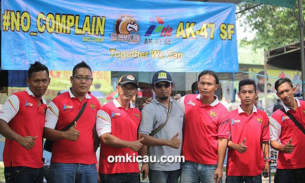 Om Prio dan kru AK 47 SF Bandung
