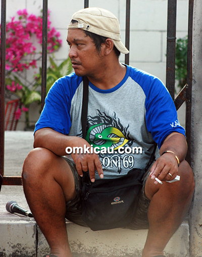 Om Hendri, owner Kampoeng Loegoe