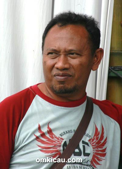 Om Sastro, ketua Ngraho BC