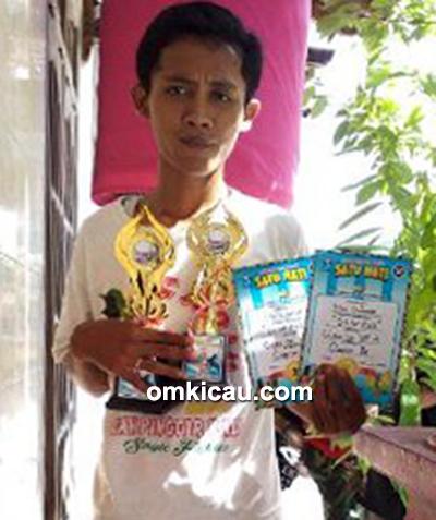 Om Wanto dan cucak ijo DNW 022