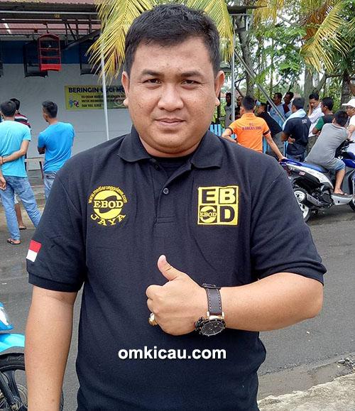 Om Jaya, ketua Ronggolawe Tungkal