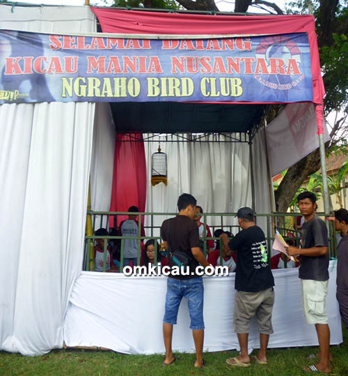 Lomba burung berkicau Ngraho BC Cup IV Bojonegoro