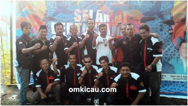 Tim juri Radjawali Indonesia DPC Palembang