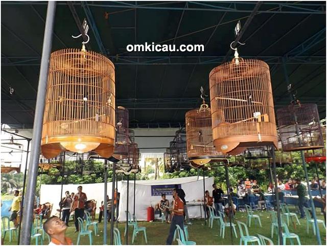 lomba burung berkicau Danyon Arhanud 12/SBP Cup Palembang