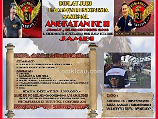 Diklat Juri Radjawali Indonesia Angkatan II