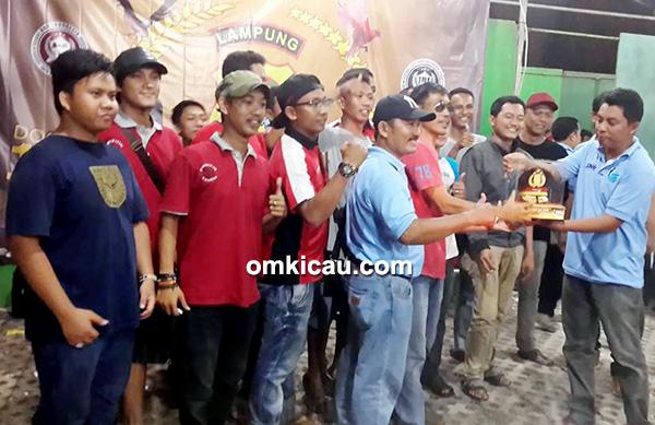 KLI Lampung juara umum BC