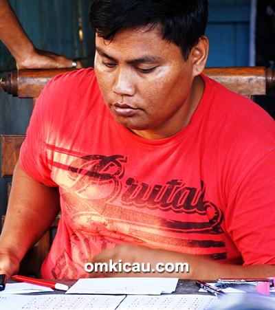 Om Slamet, ketua Cindelaras BC
