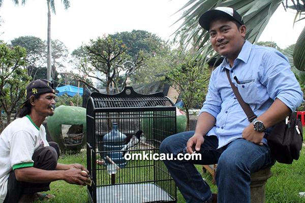 Om Wahid dan kacer Rajawali
