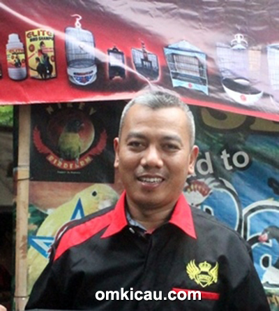 Om Widodo, owner Elite