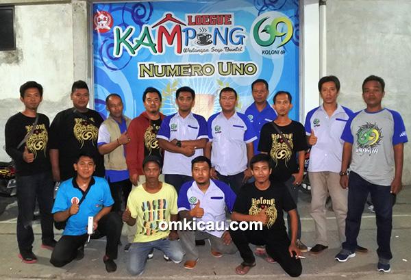 Panitia dan juri Latpres Sabtu Seru Kampoeng Loegue