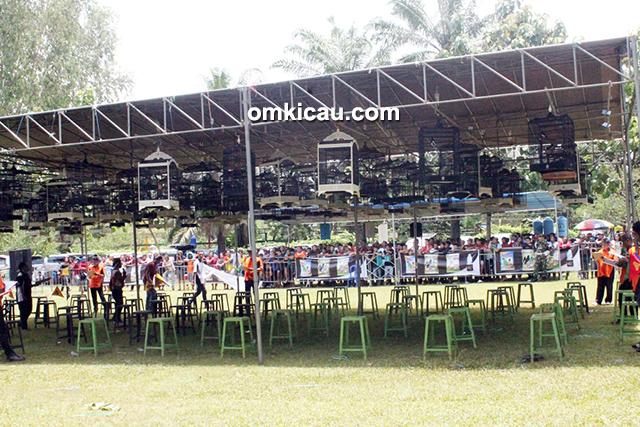 Lomba burung berkicau Piala Panglima TNI