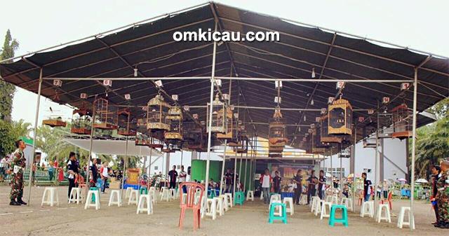 Lomba burung berkicau Bupati Cup II Lampung Utara