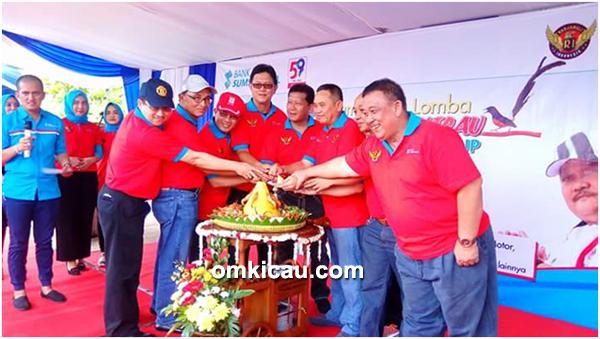 Lomba burung berkicau Bank Sumsel Babel Cup
