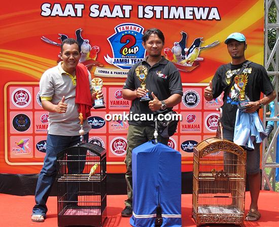 Yamaha Cup 2 Jambi-juara kenari