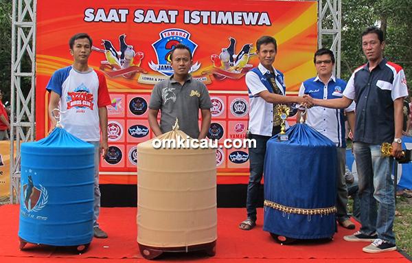 Yamaha Cup 2 Jambi-juara murai batu