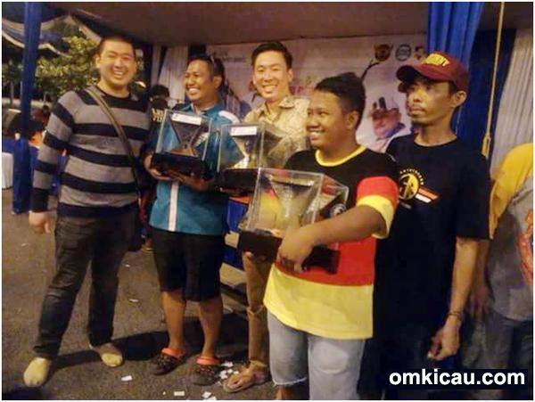 Sien Ronny SF juara umum