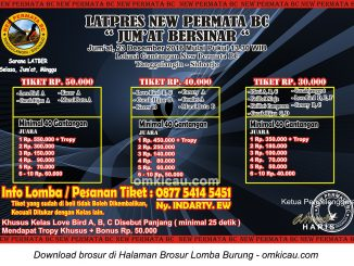 Brosur Latpres Jumat Bersinar New Permata BC, Sidoarjo, 23 Desember 2016