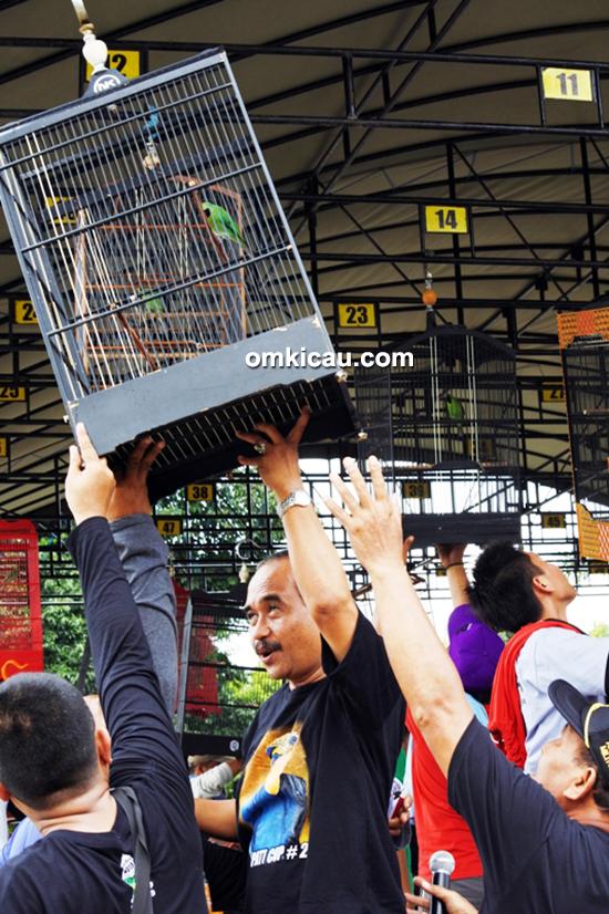 Lomba burung berkicau Bupati Blora Cup II